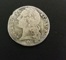 12 Sols O 1/10 Scudo 1741 M Toulouse Louis XV Empire Français Francia France - 987-1789 Royal