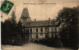 CPA COURS Chateau. Rue De THIZY (443571) - Cours-la-Ville