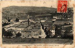 CPA COURS Vue Générale (443575) - Cours-la-Ville