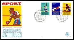 Antillas Holandesas En Sobre - Antillas Holandesas