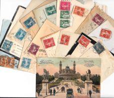 FRANCE - Semeuse Camée - Petit Lot De 15 Lettres - 1906-38 Sower - Cameo