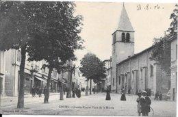 COURS - Grande Rue Et Place Du Marché - Cours-la-Ville