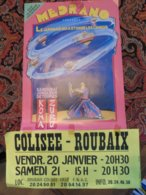 Cirque Circus Medrano Affiche Zirkus - Reclame