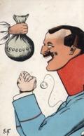 GELD - POT DE VIN Pour Officier Allemand ( Prussien ) - Illustration De E.F ( BERLIN) TBE - Illustrateurs & Photographes