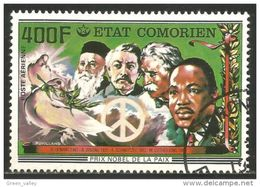 270 Comores Prix Nobel Prize Paix Peace (COM-69) - Nobel Prize Laureates