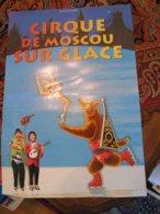 Circus Cirque Circo Moscou Moscow Affiche - Publicité