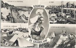 CPSM Grandcamp Coiffe Et Vues Multiples - Francia