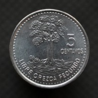 Guatemala 5 Centavos (Magnetic) 2010. Coin UNC Km276.7 - Guatemala