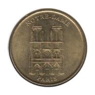 75036 - MEDAILLE TOURISTIQUE MONNAIE DE PARIS 75 - Notre Dame De Paris - 2002 - 2002