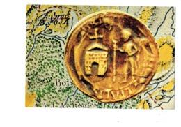 Cpm - Connaissance Du Rouergue Sceau Abbaye Hopital D'Aubrac Pièce Monnaie Datée 1304 - Pélerin Baton - 1980 - France