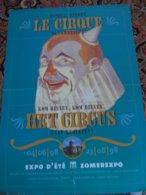 Circus Cirque Circo Expo Exhibition - Publicité
