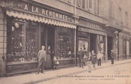 SAINT CHAMOND          VUE DES GRANDS MAGASINS DE CHAUSSURES  A LA RENOMMEE - Saint Chamond