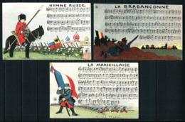 Francia LOTE (3 Tarjetas Postales) Año 1915 - Other
