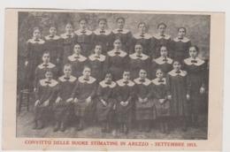 Arezzo , Convitto Delle Suore Stimatine, Settembre 1913 - F.p. - - Arezzo