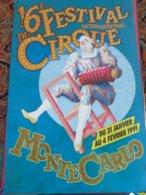 Festival Monaco Monte Carlo Circus Cirque Circo Zirkus - Andere