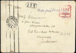 1945, Ungarn, Brief - Ohne Zuordnung