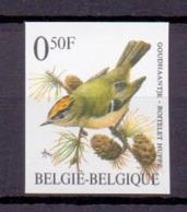 2424 GOUDHAANTJE BUZIN VOGEL ONGETAND POSTFRIS** 1991 - Belgique