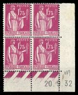 1932, Frankreich, 283 (4), ** - Frankreich
