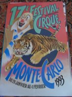 Festival Monaco Monte Carlo Cirque Circus Circo Zirkus - Andere