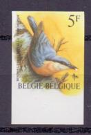 2294 BOOMKLEVER BUZIN VOGEL ONGETAND POSTFRIS** 1988 - Belgique
