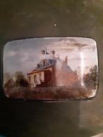 Petit Vide-poche En Porcelaine Fine De Choisy Le Roi - Décor Trouville - Petite égrenure à Gauche En Bas - - Choisy Le Roi (FRA)