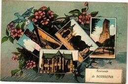 CPA Souvenir De SOISSONS (159005) - Soissons