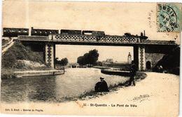 CPA ST-QUENTIN Le Pont De Velu (280316) - Saint Quentin