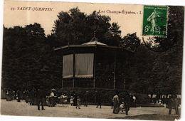 CPA ST-QUENTIN Les Champs Elysees (280328) - Saint Quentin