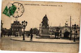 CPA ST-QUENTIN Place Du 8 Octobre (280349) - Saint Quentin