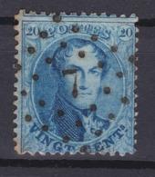 N° 15 A : 7 CUREGHEM ANDERLECHT COBA +12.00 - 1863-1864 Medallones (13/16)