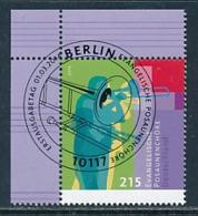 GERMANY Mi.Nr. 3065 Evangelische Posaunenchöre - ESST Berlin - Eckrand Oben Links  - Used - BRD