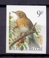 2426 ZANGLIJSTER BUZIN VOGEL ONGETAND POSTFRIS** 1991 - Belgique