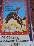 Rodeo Cirque Circus Texas Cowboys - Reclame