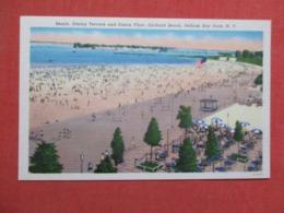 Beach Dinninf Terrace Dance Floor Orchard Beach Pelham Bay Park  New York    Ref 3627 - Long Island