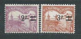 NOUVELLE-CALEDONIE TIMBRE-TAXE  N°  24/25  **  TB 1 - Portomarken