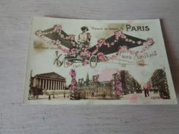 France ( 224 )  Frankrijk  :   Planant Au Dessus De Paris  -  Avion  Vliegtuig - Frankreich