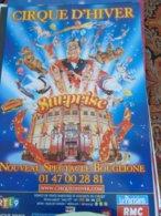 Cirque Circus Cirque D'hiver Bouglione Affiche - Publicité