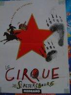 Cirque Circus Cirque Medrano Affiche - Publicité