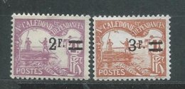 NOUVELLE-CALEDONIE TIMBRE-TAXE  N°  24/25  *  TB 8 - Portomarken