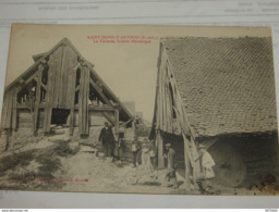 C.P.A.- Saint Denis D'Authou (28) - La Tuilerie - Scierie Mécanique - 1910 - SUP  (L18) - France