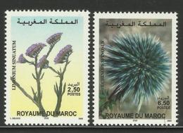 MOROCCO  MAROC  2003  PLANTS,FLOWERS  MNH - Végétaux