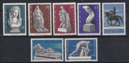 Griekenland - Neugriechische Bildhauer - MNH - M 936-942 - Ongebruikt