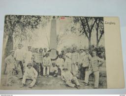 C.P.A.- Asie - Chine - Langfang - Militaires Devant Monument - 1912 - SUP (L79) - Chine