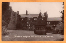 Eccleston Village Near Chester UK 1908 Real Photo Postcard - Chester