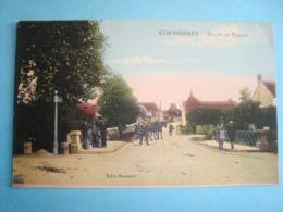10 - Coussegrey - Route De Troyes - 1928 - France