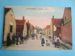 10 - Coussegrey - La Grande Rue - 1928 - France
