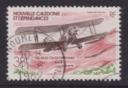 New Caledonia 1982 Air. NC Aircraft 38f Used  SG 670 - Neukaledonien
