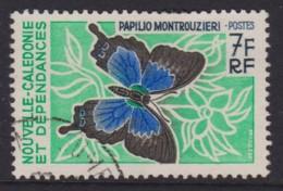 New Caledonia 1967 Butterflies & Moths 7f Used  SG 430 - Gebraucht