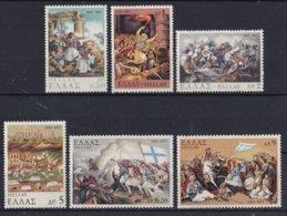 Griekenland - 150. Jahrestag Des Aufstandes Der Nation (IV) - MNH - M 1079-1084 - Ongebruikt