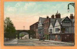 Chester UK 1908 Postcard - Chester